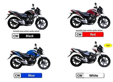 honda new mega pro 2012 warna striping terbaru