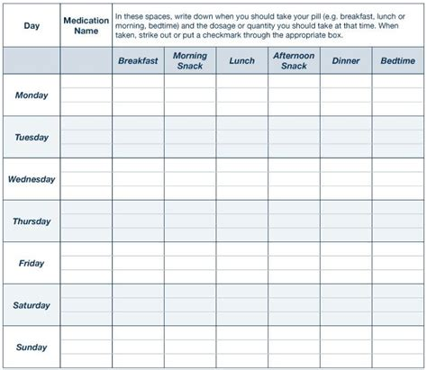 Pin By Devan Dean On Supplement Tracking Pinterest Medication Log Animal Medicine And Supplement Schedule Template