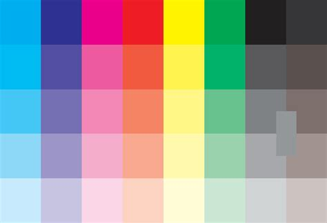 color pattern quiz cmyk color test pattern design by jeffrey sward