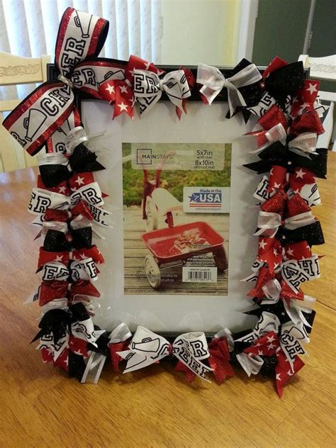 custom cheering picture frame made to match your by