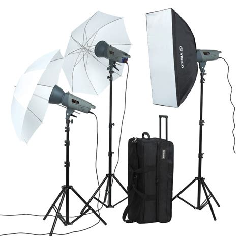 Lighting Visico by Visico Vl 300 3 In1 Studio Light Kit