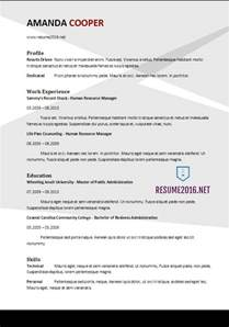Best Resume For 2017 by Best Resume Template 2017 Learnhowtoloseweight Net