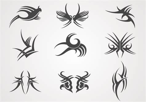 tattoo designs vector designs vector pack free vector