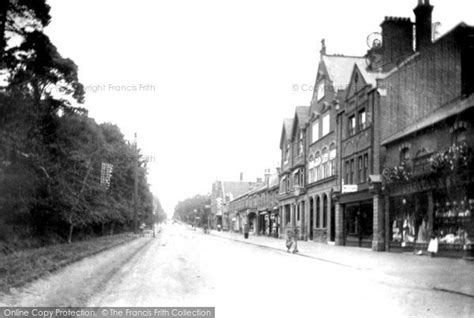 tattoo london road camberley camberley london road 1906 francis frith