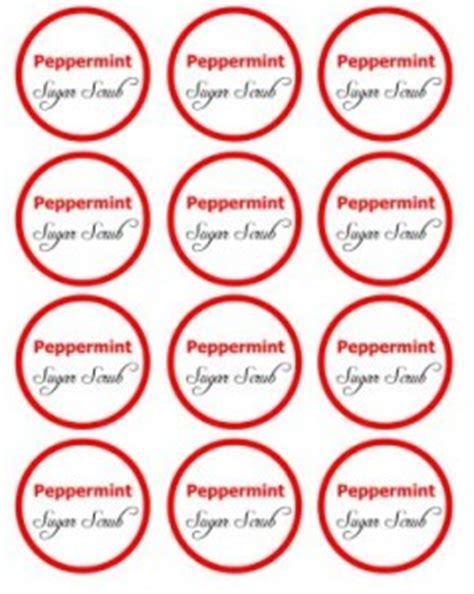 printable label for peppermint sugar scrub 25 days of diy gifts peppermint sugar scrub in a jar with