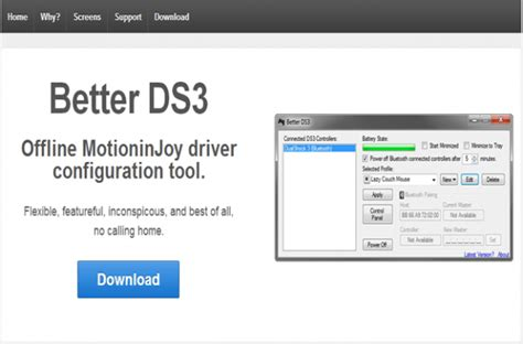 better ds3 tool how to use a ps3 on pc