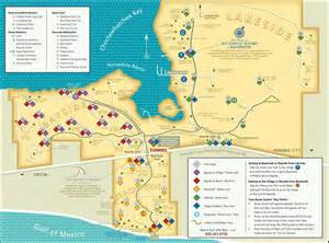 sandestin resort and bike map maplets