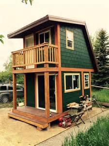 Tiny Two Story House ceramic studio tiny house swoon