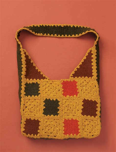 Patchwork Bag Patterns - felted crochet patchwork bag patterns yarnspirations