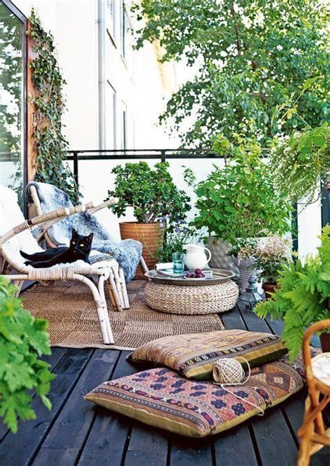 Outdoor Patio Spaces Small And Cozy Bohemian Outdoor Spaces House Design And