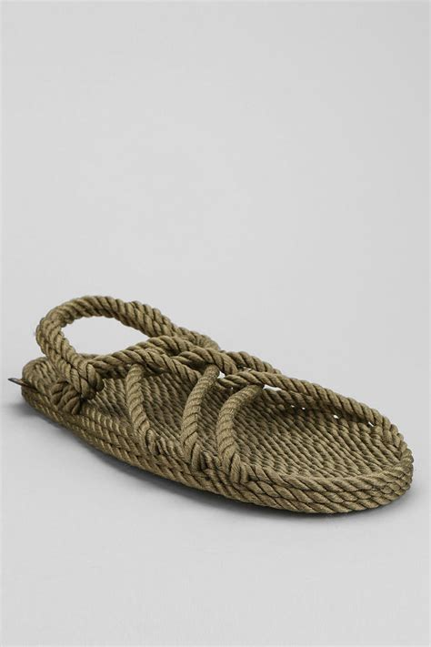 mens rope sandals outfitters burkman bros x gurkees neptune rope