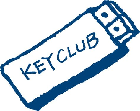 Key Club Powerpoint Template graphics