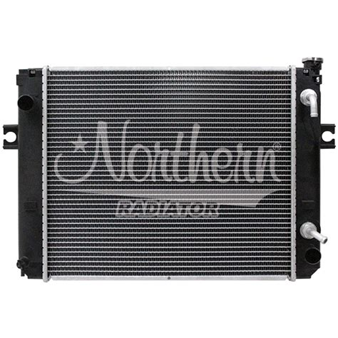 Tank Radiator Forklift Toyota 445 northern factory forklift radiator toyota 19 3 4 x