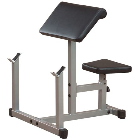 bench curl power line preacher curl bench ppb32x