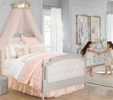 pottery barn kids beds blythe tufted bed