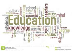 education word cloud stock images image 19119234