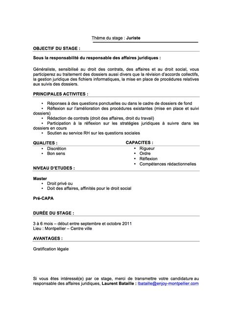 Offre De Stage Cabinet Comptable by Demande De Stage Cabinet Comptable