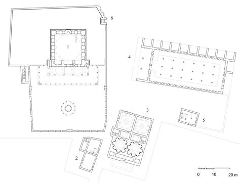Mosque Floor Plan by Architectural Drawings Floor Plan Of Complex Showing 1
