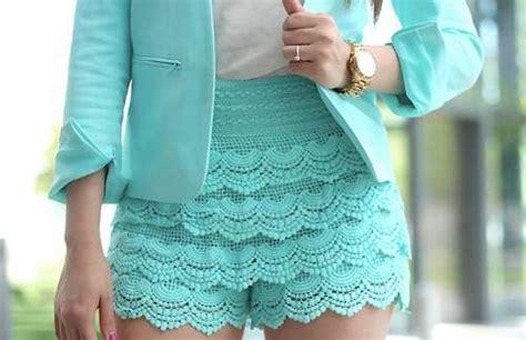 short crochet patrones como hacer short tejido en crochet imagui lugares para