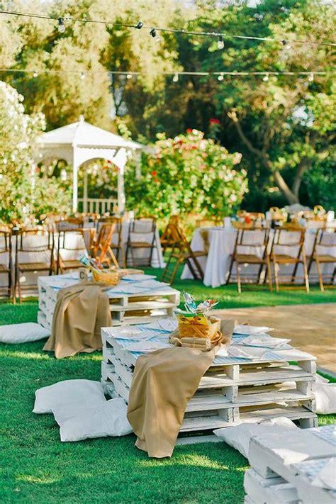 backyard picnic ideas 25 fun outdoor picnic wedding ideas to copy deer pearl flowers