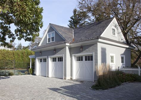 Detached Garage Plans Garage And Shed Traditional With Traditional House Plans With Detached Garage