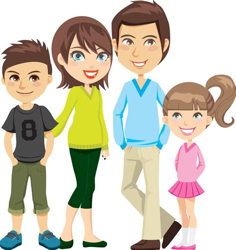 family clipart family of 4 clipart 101 clip