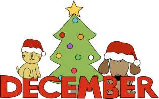 Month of december christmas pets clip art image month of december in