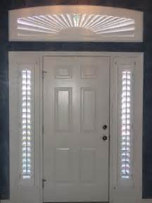 Blinds For Sidelights Front Door Shutters For Sidelight Windows Modern Entry By Blinds