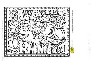 rainforest coloring pages free children in the forest coloring pages