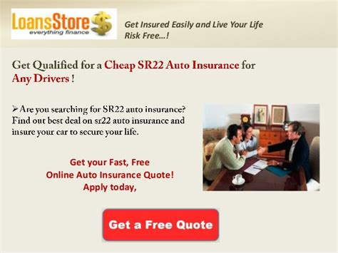 Insurance Quotes Drivers by Auto Insurance Quotes High Risk Drivers Programspider