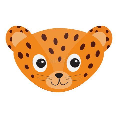 imagenes de jaguar animados cabeza del leopardo de jaguar cara sonriente del gato