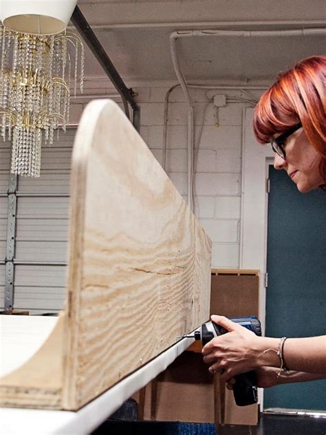 diy upholstered headboard with wings how to make a tufted wingback headboard how tos diy
