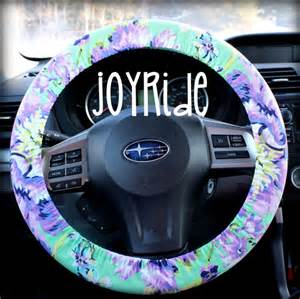 Steering Wheel Covers Big W Steering Wheel Cover Plum Posy Orchid W Matching Keychain