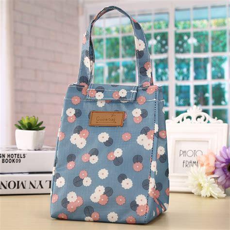 Cooler Bag Tas Bekal Ada Lapisan Penahan Panas Dan Dingin Cooler Bag Korean Style Tas Bekal Dgn Lapisan Penahan