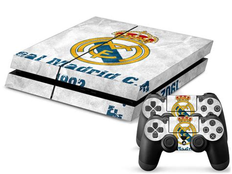 themes ps4 real madrid decal skin sticker ps4 console real madrid skins for