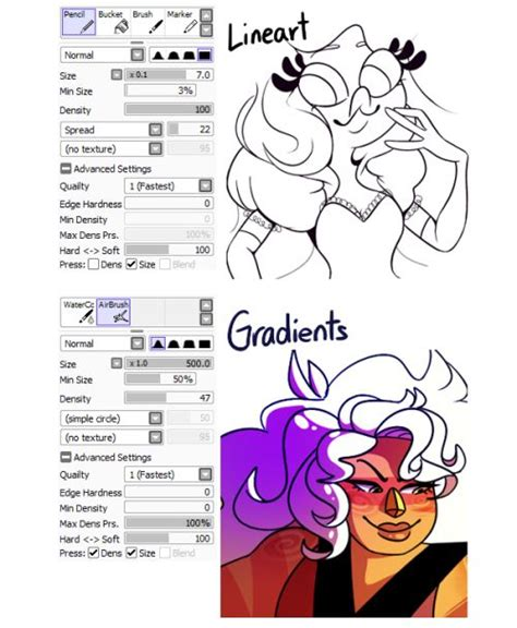 paint tool sai drawing tips 374 best images about painttool sai on drawing
