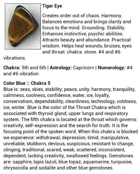 meaning of tiger eye crystals gems page 4 witches of the craft 174