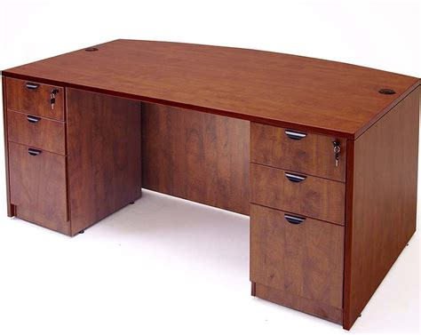 Laminate Office Desk Cherry Laminate Office Furniture Set 1899 Free Shipping