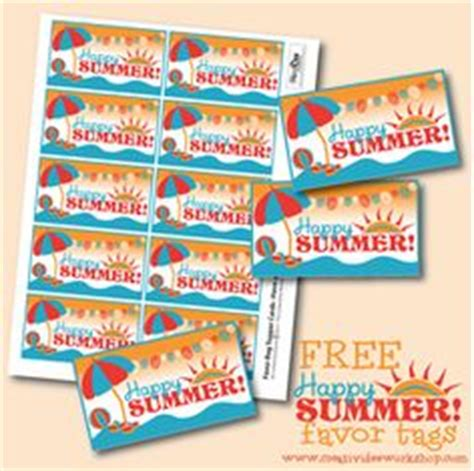 free printable gift tags summer 1000 images about summer treats on pinterest last day