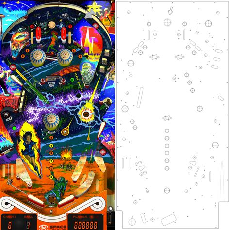 Future Turn On The Lights Download Playfield How To Build A Pinball Machine