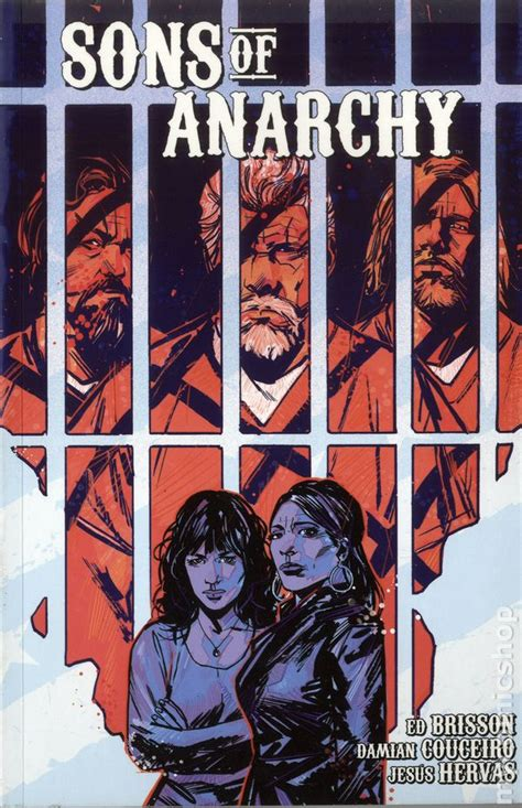 anarchy in books sons of anarchy tpb 2014 2016 boom studios comic books