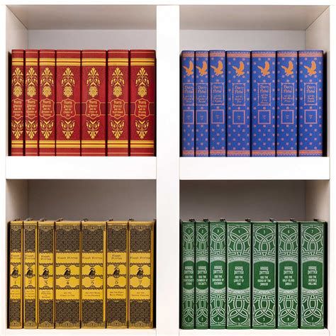 Harry Potter Book Sets In Custom Jackets Juniper Books