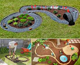 backyard diy race car tracks your will instantly