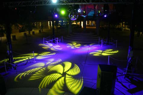 Gobo Light by Backstage To School Events