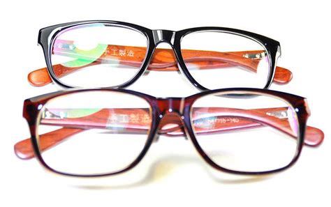new mens womens wooden eyeglasses frames rx spectacles