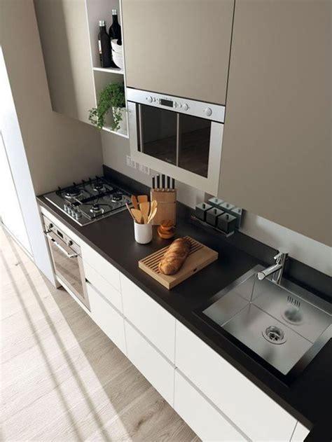 cocina moderna blanco con encimera diferentes colores para encimeras de cocina decoraci 243 n