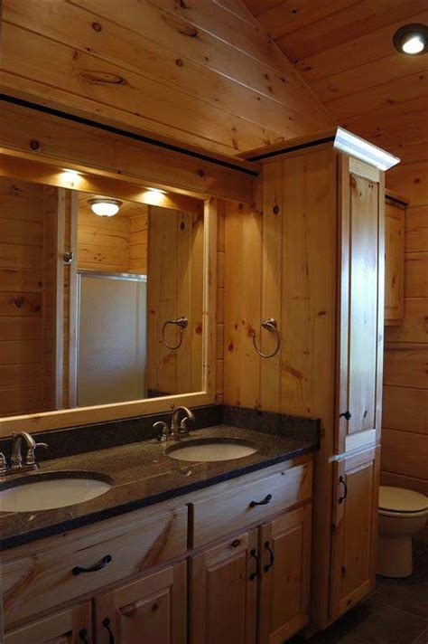 pine bathroom cabinets