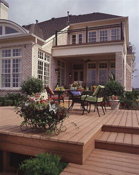 deck without railings outdoors pinterest