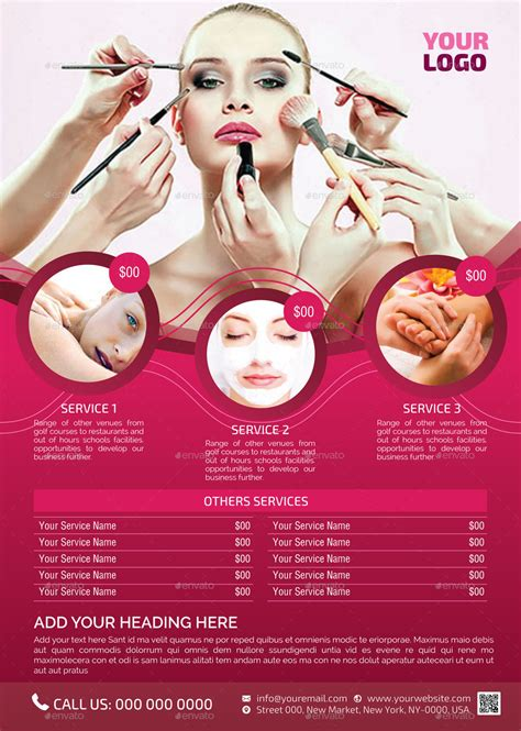 templates for beauty flyers multi purpose beauty flyer by aam360 graphicriver