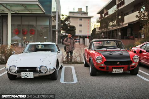 rare cars rare toyota 2000gt spotted at cars coffee meeting in